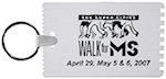 3.25 Inch Credit Card Scraper Keychain